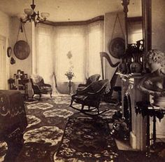 """Lathrop House Sacramento CA 1870's"""