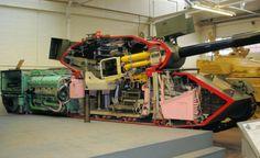 A tank cut in half , - , A tank cut in ha... , #cutaway #tank