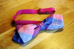 Cotton Bowtie #recycle #cotton #funtowear #bowtie #smart Bowties, Cotton, Handmade, Accessories, Fashion, Tie Bow, Moda, Hand Made, Bows