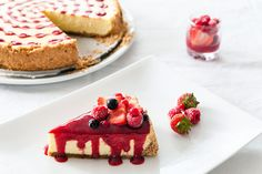 New York Style Cheesecake aux fruits rouges