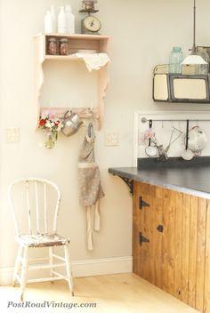 Cute little pink shelf
