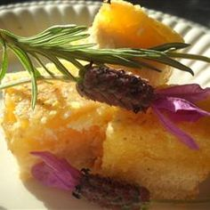 Lemon Bars Lavender and lemon work well together and these baked bars are a great example of their partnership.Lavender and lemon work well together and these baked bars are a great example of their partnership. Lavender And Lemon, Lavender Recipes, Lavender Buds, Chocolate Chip Cupcakes, Lemon Bars, Just Desserts, Dessert Recipes, Tasty, Favorite Recipes