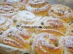 Super softe Vanille-Quarkschnecken « kochen & backen leicht gemacht mit Schritt für Schritt Bilder von & mit Slava