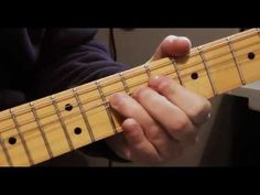 Jimi Hendrix guitar lesson red house licks with Keith Doran - YouTube