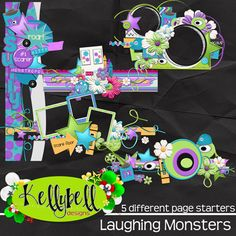 MONSTERS INC Laughing Monsters Page Starters