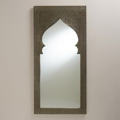 Metal Clad Sana Mehrab Mirror | World Market