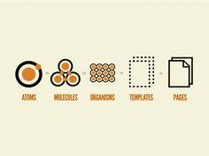Предлагаю читателям «Хабрахабра» перевод статьи Брэда Фроста (Brad Frost) «Atomic Web Design».    Мы не проектируем страницы, мы проектируем системы компонент.