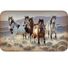 Running Horse Doormat