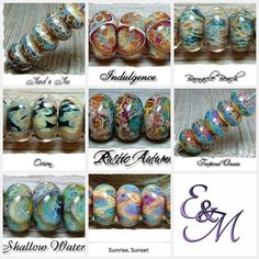 Saw these Lampwork beads on Java.com. Can't choose which one to buy.