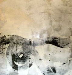 """Kim Fonder """"Brush of the Spirit"""" via exhibitbyaberson. Organic pigment and semi transparent stain with sumi ink on canvas. Abstract Expressionism, Abstract Art, Sumi Ink, Collages, Collage Illustration, Amazing Paintings, Patterns In Nature, Art Techniques, Lovers Art"""