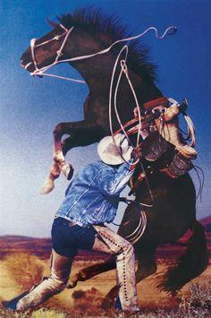 Richard Prince (B. 1949) Untitled (Cowboy)