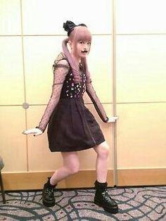 KPP Japanese Models, Japanese Fashion, Asian Fashion, Kyary Pamyu Pamyu, Singer Fashion, Creepy Cute, Mori Girl, Pop Singers, Kawaii Fashion