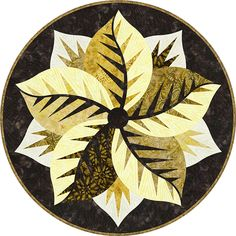 Poinsettia, Quiltworx.com, Made by Quiltworx.com Table Topper Patterns, Table Toppers, Foundation Paper Piecing, Rug Hooking, Square Quilt, Poinsettia, Textile Art, Quilt Blocks, Fabric Design