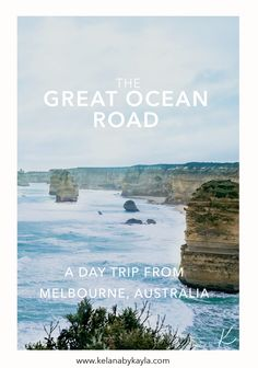 The Great Ocean road in Melbourne Australia