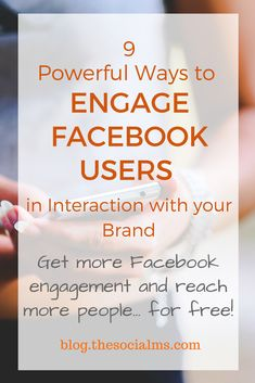 Here are a few simple and quick ways to interact more with your audience on Facebook to significantly increase Facebook engagement that do not include Facebook ads. facebook engagement, engage Facebook users, how to get more engagement on #Facebook page, #facebookmarketing  #marketing
