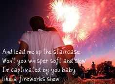 so cute. pink summer, watch firework, heart, dream, boy meets girl, 4th of july, fireworks, summer lovin, thing