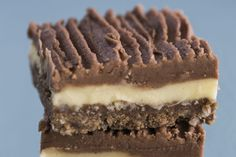 Double-iced chocolate slice – Recipes – Bite