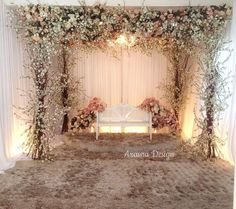 Wedding dais @azasna.villa for lovely @yatthamzah