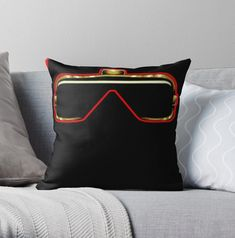 Vibrant double-sided print throw pillows to update any room @ripkingvon12 #ripkingvon Designer Throw Pillows, Home Decor Items, Pillow Design, Vibrant, King, Room, Bedroom, Rooms, Rum