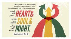 Verse of the Day from Logos.com    신명기 6:4-5, 이스라엘아, 들으라. 우리 하나님 여호와는 오직 유일한 여호와이시니, 너는 마음을 다하고, 뜻을 다하고, 힘을 다하여, 네 하나님 여호와를 사랑하라.