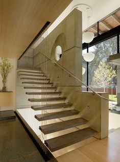 House 7 Stairs | Looking up | CHENG Design | sustainable, emotional, timeless design