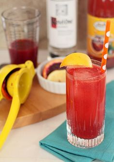 How to Blood Orange Snowbird Spritzer Vodka Blood Orange Juice and Sparkling Soda