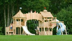 Awesome Outdoor Playset from Cedarworks Serendipity Series!!