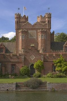 Oxborough Hall, Norfolk, England is a moated country house built around 1482 by Sir Edmund Bedingfield. The Hall is notable for the Oxburgh Hangings, which are needlework hangings by Mary Queen of Scots and Bess of Hardwick, Mary worked on these while imprisoned in England in the custody of the Earl of Shrewsbury, open to the public