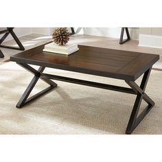 Steve Silver Omaha Cocktail Table - Dark Cherry - MH300C, Durable