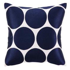 Oversized dotty pillow