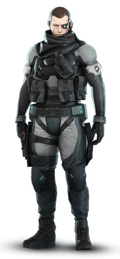 Saito of Section 9 | Ghost in the Shell: Stand Alone Complex - First Assault Online