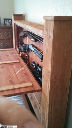 Fresh Hall Tree Gun Cabinet