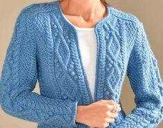 Knit Cardigans For Women Cardigan Pattern, Knit Cardigan, Knit Dress, Lace Knitting, Knit Crochet, Knitting Videos, Cardigans For Women, Pulls, Knitting Patterns