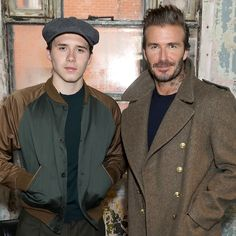 Brooklyn and David Beckham Tried to Out-Dress Each Other...Again | GQ