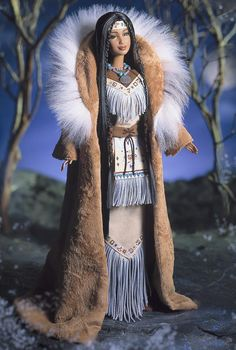 Spirit of the Earth - somewhere I have 2 porcelain indian dolls.  Or maybe I gave them to my daughters?