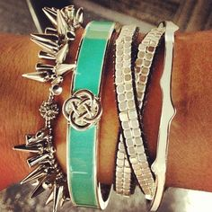 Cute little arm party & I have all of these in my display. Perfect!