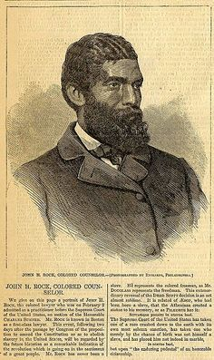...First African American Before US Supreme Court February 1, 1865 John Sweat Rock (1825-1866), a noted Boston lawyer, became in 1865 the first African-American to practice before the U.S. Supreme Court and the first Black person to speak before the U.S. House of Representatives.
