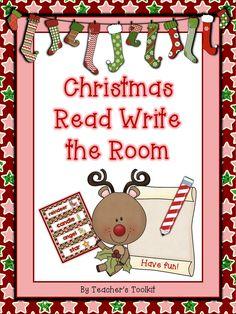 Free Christmas Read Write the Room