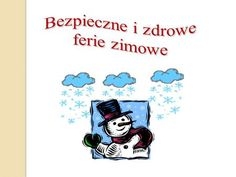 Bezpieczne i zdrowe ferie zimowe.> Smurfs, Noel