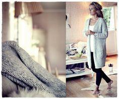 Me Naiset – Blogit | Kalastajan vaimo – DIY Mun muhkea Puno Casual Outfits, Fashion Outfits, Scandi Style, Winter Wear, Boho Chic, Knitwear, Knit Crochet, Diy, My Style