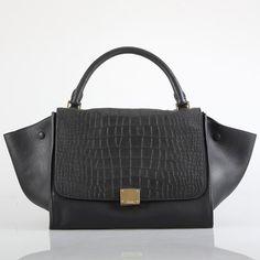 Celine Trapeze Bag Black [Celine-104] - €236.55