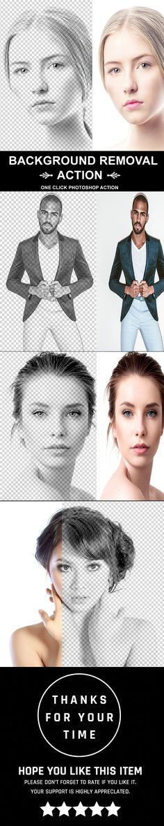 #Background Removal Action - #Photo Effects #Actions Download here:  https://graphicriver.net/item/background-removal-action/20288991?ref=alena994