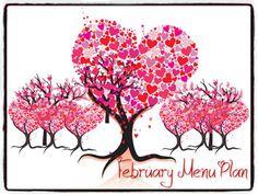 A Glimpse of Normal: February Menu Plan