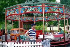Old Carnival Rides | ... First Festival of Vintage French Carnival Rides and Carousels