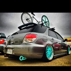 Slammed Subaru Wagon | s3lfmade914 - @s3lfmade914