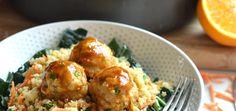 Orange Chicken Meatballs - Little Bits Of Real Food