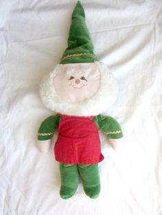 Vintage Christmas Elf, Santa's Helper.  https://www.etsy.com/shop/TheVintageKissMarket?ref=hdr_shop_menu