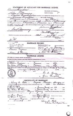 Vital records and other important documents in the life of Helen Isabel Manning Engstrom - Birth Certificate Template, Marriage Certificate, Lease Agreement Free Printable, Marriage License Application, Visa Card Numbers, Printable Checks, Driver License Online, Marriage Records, Vital Records