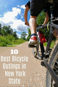 10 Best Bicycle Outings in New York State Summer On You, Bike Path, Restaurant New York, Mountain Bike Trails, All Things New, Cool Bicycles, Craft Cocktails, Paths, Travelling