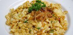 Voici la recette bavaroise des Spätzle au fromage, les Käsespätzle, un plat généreux et gourmand qui sert d'accompagnement ou de plat principal en Bavière.